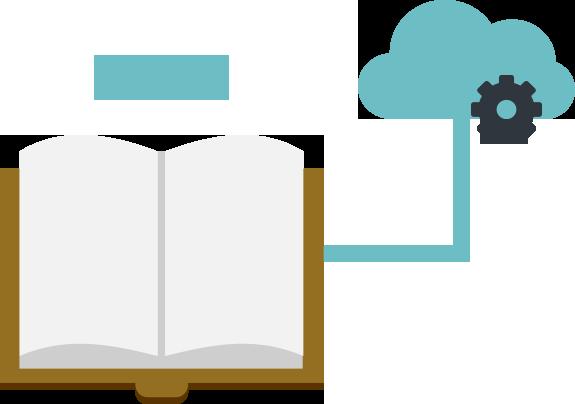 作成したデジタルブック・電子カタログはmeclibのクラウドでも自社サーバーでも公開可能