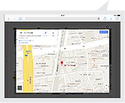 meclibなら地図情報をポップアップで表示