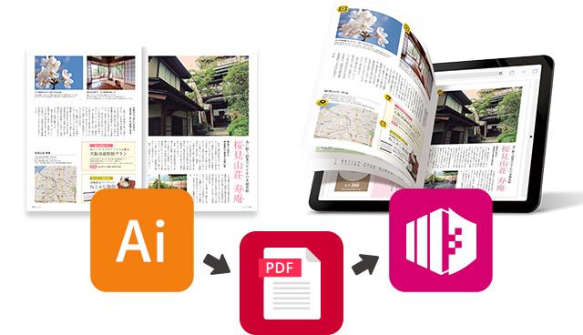 カタログ・パンフレット・チラシなど印刷物のデータからデジタルブックまで、一貫体制で制作。